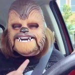 This Woman's 'Chewbacca Mask' Sets the Internet On Fire.