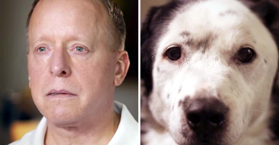 A man on the verge of death rescued a dog with no hope. Then, the dog rescues him.