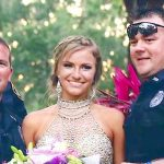 This Teen Wears a Sparkling Dress to Prom. But Notice What the Cops Are Holding In Their Hands…
