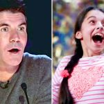 Simon Has No Faith In This 13-Year-Old Singer. But When She Opens Her Mouth, He's Shocked.