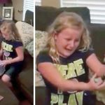 You'll Cry Tears of Joy When You See This Girl's Reaction to Getting a Doll With a Prosthetic Leg.