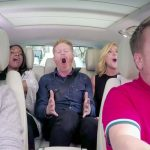 This Might Be James Corden's Most Epic 'Carpool Karaoke' Ever. Because Broadway.