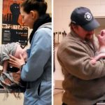 A Pit Bull Puppy Gets Surprise of a Lifetime When His Rescuer Returns to Adopt Him.