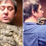 An Owl Missed the Man Who Saved Her So Much That She Couldn't Stop Hugging Him.