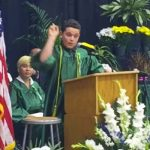 Watch an 8th-Grader Impersonate Trump, Clinton, Obama and Sanders In a Brilliant Graduation Speech.