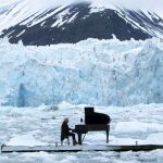 He Took a Piano to a Remote Glacier In the Arctic. When He Starts Playing, It's Terrifying.