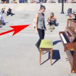 A Piano Sits In a Public Square. But No One Expects This When the Girl In Green Walks Up…