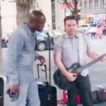 A Street Performer Starts to Play 'Stand by Me'. You'll Never Guess Who His Famous Duet Partner Is.