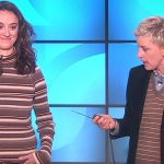 Ellen Loses It When Her Guests Wear a New Type of Bra. Now Keep Your Eyes On Her Sweater.