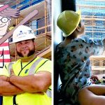 A Construction Worker Hides Waldo On Site Everyday for Kids In the Hospital Next Door to Find.
