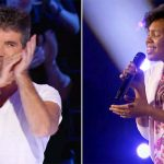 Even Simon Jumps to His Feet When This Homeless Teen Sings Her Heart Out On Stage. Wow.