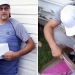 A Grown Man Crumples to the Ground When He Reads a Special Letter From His Girlfriend's Daughter.
