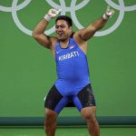A Kiribati Weightlifter Wins Over the Olympic Crowd With His Dance Moves. But There's a Sad Reason Why.