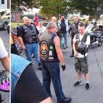 Bikers Escort Teen With Down Syndrome to His First Day of High School.