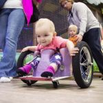 A Worried Dad Builds His Sick Daughter an Awesome Custom Wheelchair for $100.