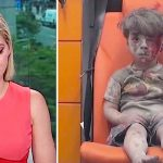 A News Anchor Breaks Down While Reporting On This Haunting Photo of a 5-Year-Old Bombing Victim.