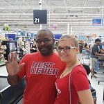A Stranger Pays for a Teacher's School Supplies In Line at Walmart.