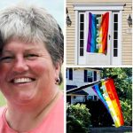 An Entire Neighborhood Flies Rainbow Flags After Bigots Egg Their Gay Neighbors.