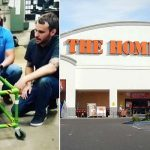 3 Home Depot Workers Build a Walker for a Blind Toddler After Grandpa Asks for Supplies.