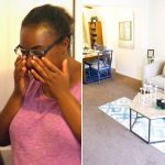 Watch a Single Mom's Emotional Reaction to Her Furnished Home After Being Homeless.