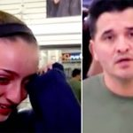 A Teen Breaks Down In Tears After Confronting Man Degrading His Girlfriend In Public.