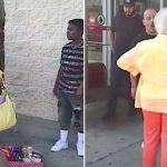 A Mean Lady Screams at a Child for Selling Candy Outside Target… Until a Stranger Has Had Enough.