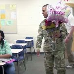 A Student Breaks Down In Front of Her Whole Class When She Sees Her Soldier Dad In the Front Row.