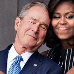 What Michelle Obama Just Did to George W. Bush Is Breaking the Internet.