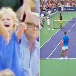 Rafael Nadal Stops the Match So a Mom Can Find Her Little Girl In the Crowd.