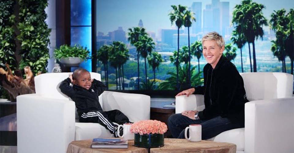 Election Got You Down? Watch This Kid Bust a Move on 'Ellen'.
