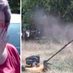 An Elderly Woman Facing Jail for 'Tall Grass' Is Moved to Tears When 4 Boys Mow Her Lawn for Free.