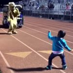 This Little Girl's Dance Moves Are Out of This World.