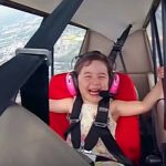 His 4-Year-Old Daughter Asked Him to Take Her Flying. The Look On Her Face Says It All.