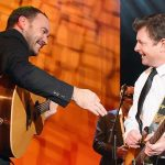 Michael J. Fox Slays Guitar Solo While Jamming With Dave Matthews.