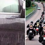 20 Bikers Show Up at Boy's School When Mom's Car Is Totally Destroyed by Bullies.