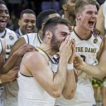 A Surprise Reunion With Military Brother Leaves Notre Dame Player In Tears.