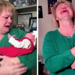 Grandma Is Confused When a Random Baby Is Placed In Her Arms, Until She Realizes Her Identity.