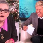 Carrie Fisher Tells Lonely Lady Not to Marry, But Her Reason Makes Ellen Burst Into Laughter.