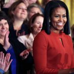 Michelle Obama Gets Emotional In Her Final White House Speech.
