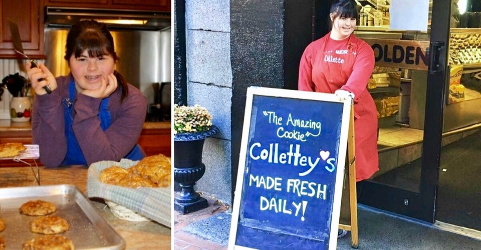 Baker With Down Syndrome Is Rejected From Every Bakery, Opens a  Shop of Her Own.