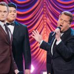 Neil Patrick Harris and James Corden Compete In a Show Tunes 'Riff-Off'.