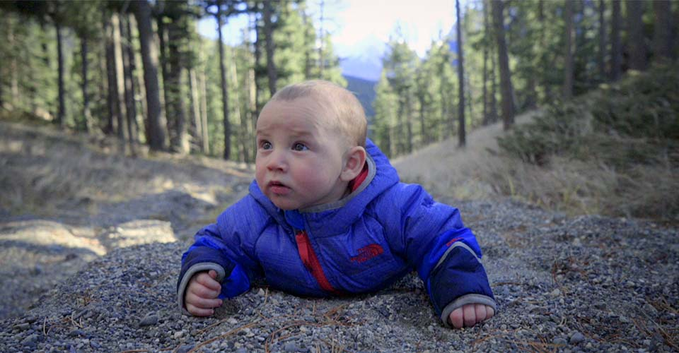 Watch adorable babies go on a hilarious high-altitude adventure.