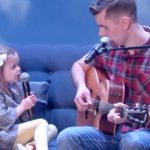 Adorable daddy-daughter duo make television debut with 'You've Got A Friend In Me' on 'The Ellen DeGeneres Show'.