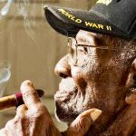 Meet America's oldest veteran. His secrets to life will make you smile.