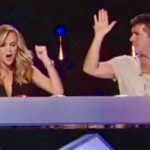 Simon halts teen's audition 10 seconds in, but the other judges fight back.