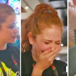 Waitress is a struggling mom of four, then she looks down and see the tip.
