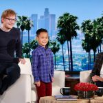 Ed Sheeran surprised this pint-sized performer on 'The Ellen DeGeneres Show' and it was the cutest thing I've ever seen.