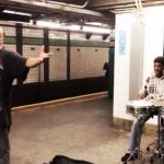 This former RCA recording artist now sings in a NYC subway station and blows everyone away.
