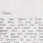 Mom writes letter to punish her entitled son, has no idea the entire Internet is reading it.