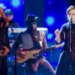 Adele and Darius Rucker leave Lady Antebellum in tears with stunning 'Need You Now'.